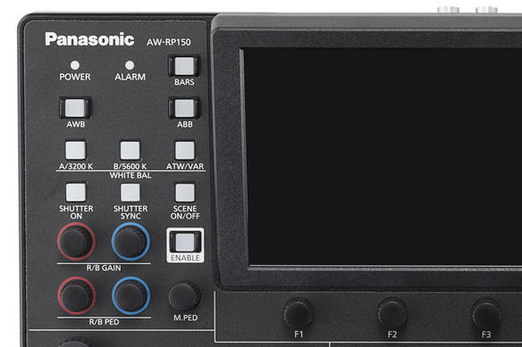 AW-RP150 Panasonic PTZ Remote Camera Controller RCC Product Image Top Left Buttons Color Correction