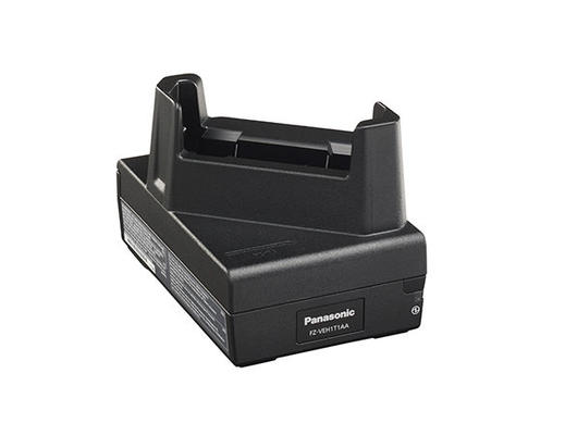 FT-T1 Cradle for Toughbook T1 - Single - Cradle - base rear view