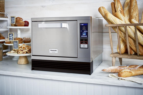 Panasonic High Speed Oven in Bakery Setting