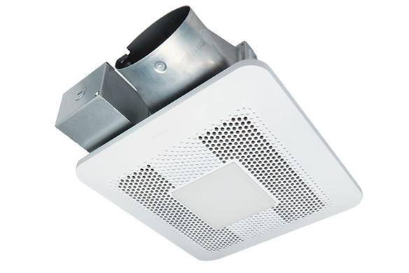Panasonic Whisper Thin Low Profile Ventilation Fan Led Light 80 Or 100 Cfm Fv 0810rsl1