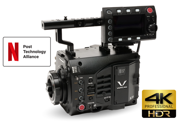 varicam lt body image netflix post alliance approved 4K HDR camera