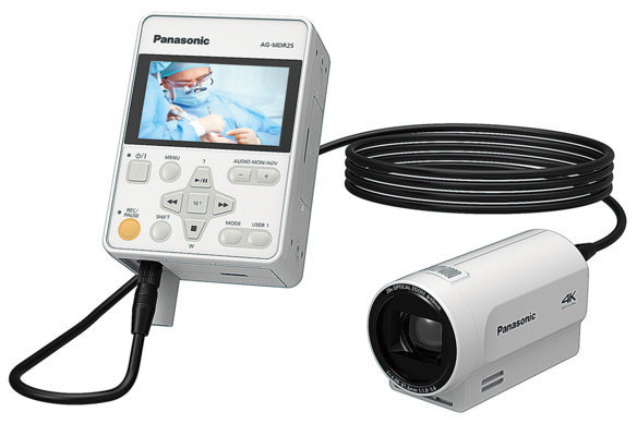 AG-MDC20GJ 4K POVCAM & AG-MDR25PJ Surgical Video Recorder for Medical Environments
