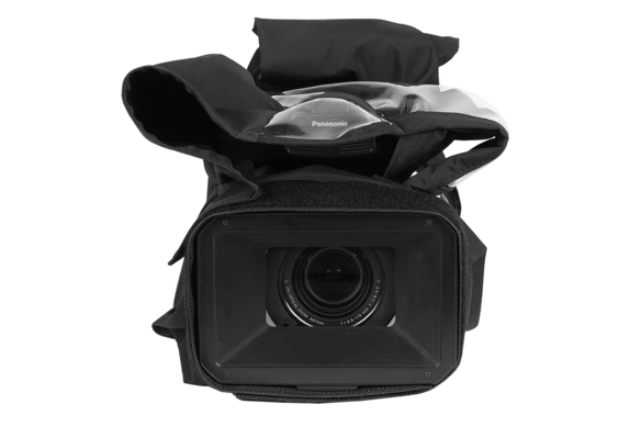 how to keep your camcorder from getting wet with the RS-AGCX350 custom fit for the AG-CX350 camera