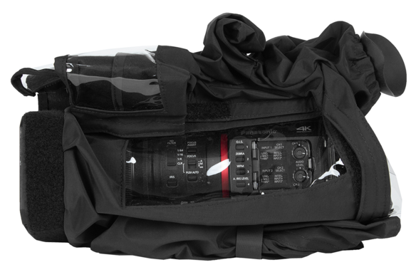 RS-AGCX350 is a raincover for the CX350 camcorder accessories that can answer is the CX350 weatherproof for use of a camcorder rain cover or rain slick for the AG_CX350