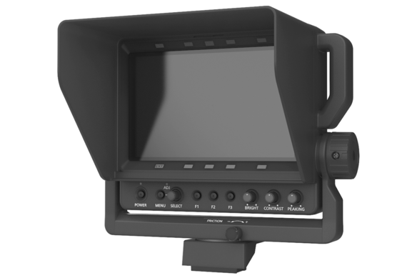 AK-HVF75 7-inch viewfinder for panasonic broadcast camera systems