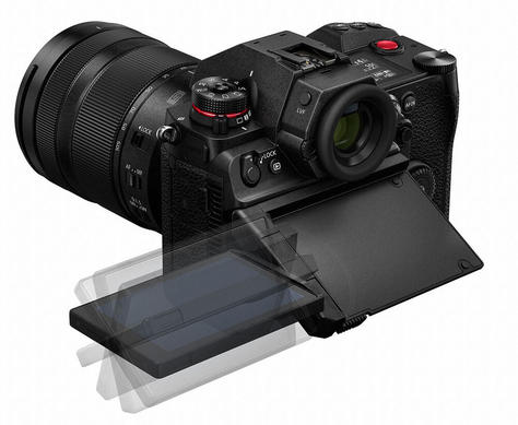 Panasonic S1H Full Frame Cinema Camera Articulating Screen