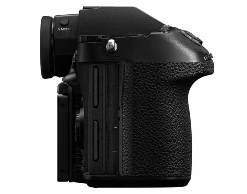 Panasonic S1H Full Frame Cinema Camera Side View with Dual SD Card Slots