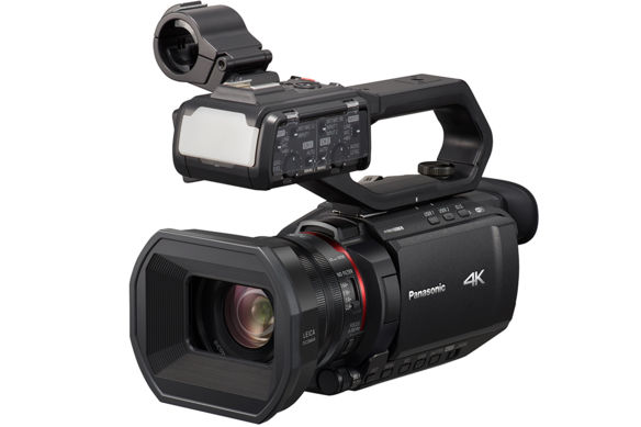 AG-CX10 camcorder is a camcorder best for low light shooting with built-in LED light