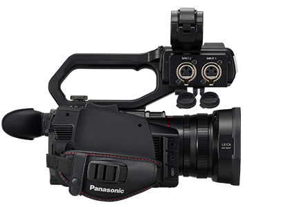 Panasonic Ag Cx10 4k Compact Handheld Camcorder With Led Light