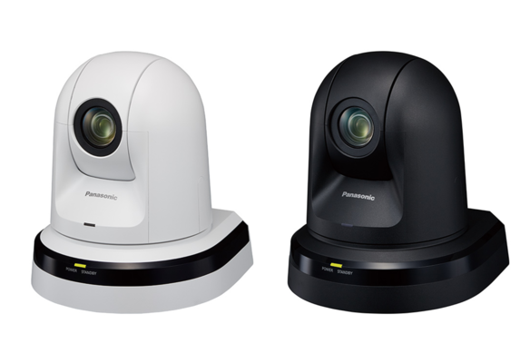 Panasonic AW-HE40SK and AW-HE40SW network ptz cameras with HD-SDI and IP