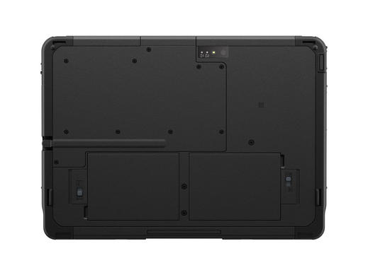 Back of Panasonic TOUGHBOOK A3 Android tablet