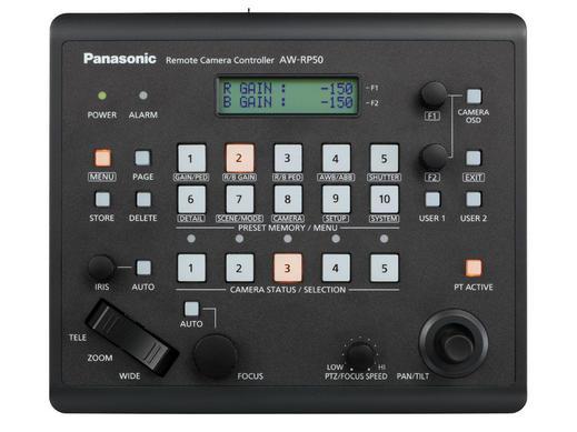 Panasonic Aw Rp50 Remote Camera Controller Professional