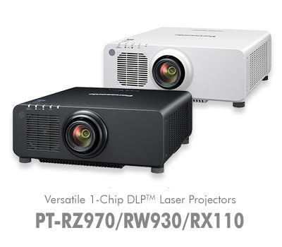 PT-RX110U 1-Chip DLP SOLID SHINE Laser Fixed Installation Projector / PT-RX110