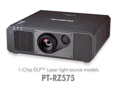 PT-RZ575U Short Throw 1-Chip DLP™ SOLID SHINE™ Laser Projector / PT-RZ575