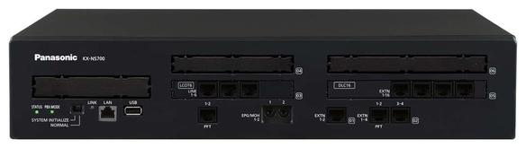 Compact Hybrid Communication Platform (up to 288 extensions) / KX-NS700