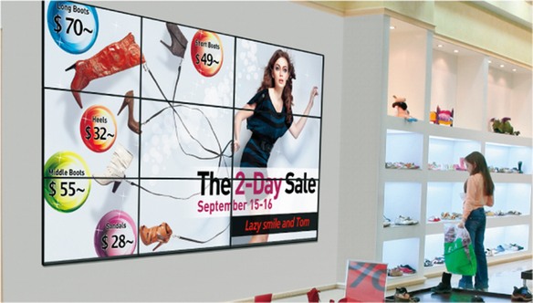 "TH-49LFV8U 49"" Class Full HD LCD Video Wall Display / TH-49LFV8"