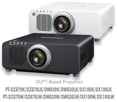 PT-DX100U 1-Chip DLP Fixed Installation Projector / PT-DX100