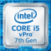 Intel i5 vpro 7th gen logo