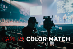 Panasonic Camera Color Matching for Multicam or Multicamera Video Productions with camera Shading Looks LUTS Scene Files Service and Training