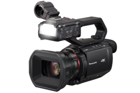 Panasonic AG-CX10 4K 10-bit Camcorder with LED for Low Light video