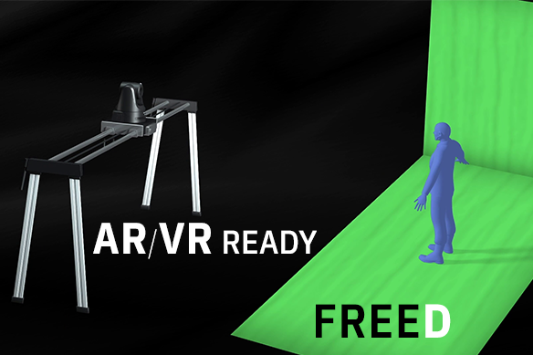 Supports FreeD for building AR/VR system