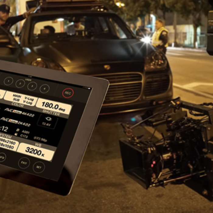 Related Content Teaser_varicam ROP remote operation panel ipad wifi control