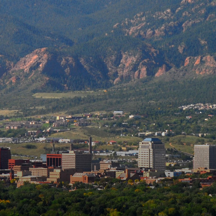 Colorado Springs hero header