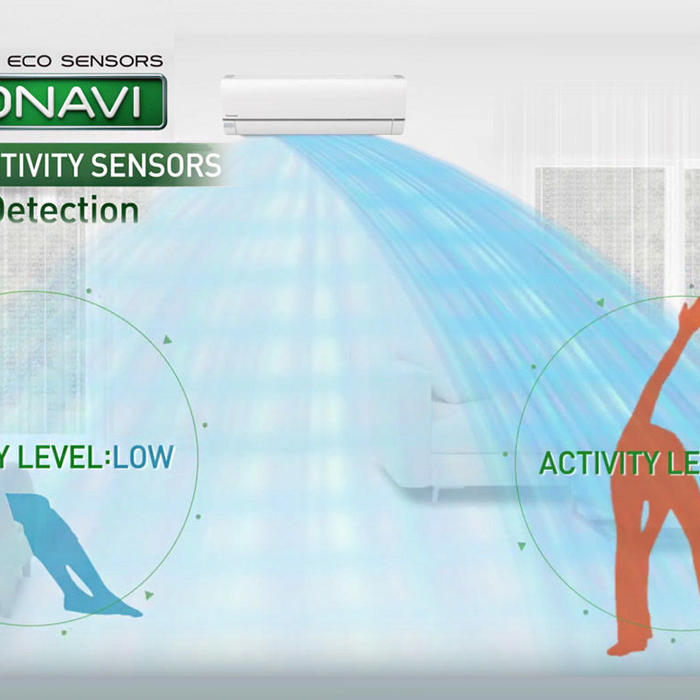 ECONAVI intelligent sensor technology