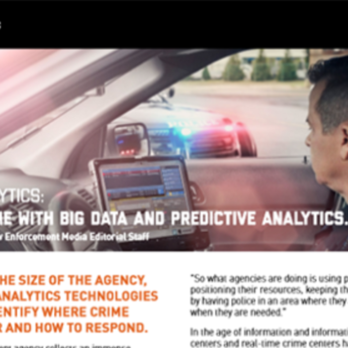 White Paper: Fight Crime with Big Data