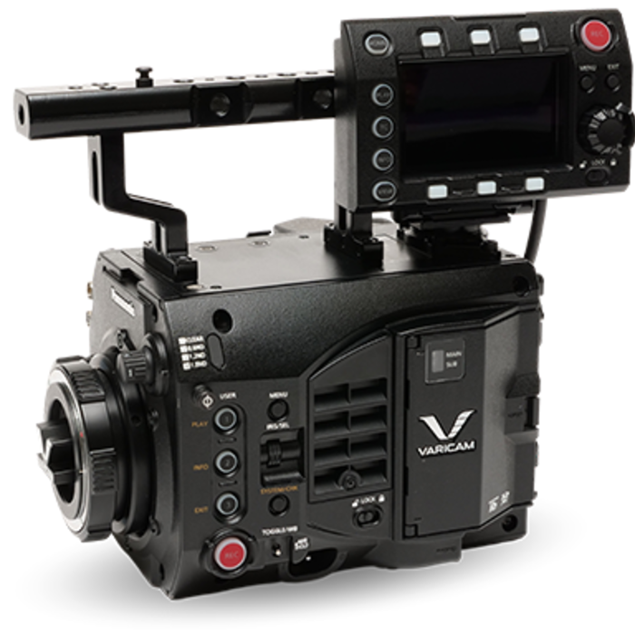 VariCam LT Body Control Panel EF Lens Mount Top Handle AU-V35LT1 camera body special offer promo code savings