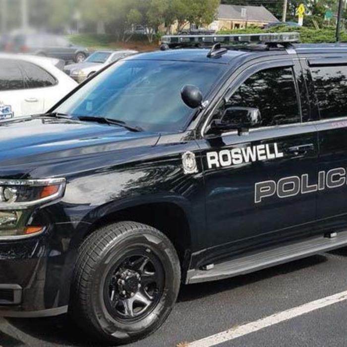 TOUGHBOOK Roswell Police Department Truck