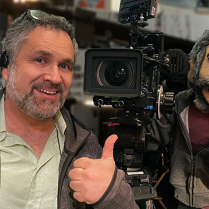 Charles Papert shooting TV show with VariCam LT - Crank Yankers