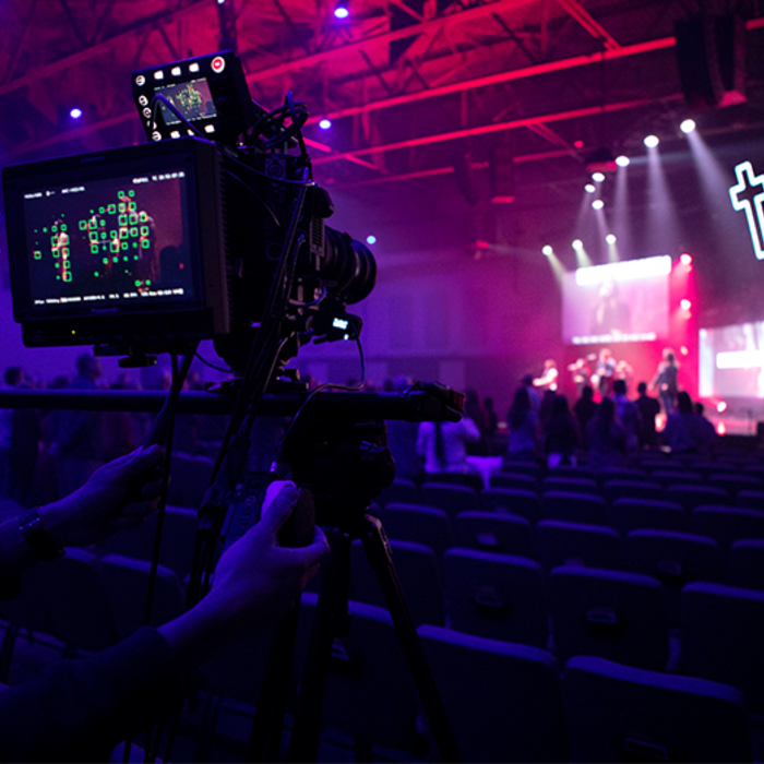varicam LT in the CINELIVE configuration is one of the most affordable solutions for capturing cinematic worship services and live performances for IMAG broadcast and streaming