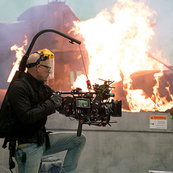 Behind the Scenes DoP Jules O'Loughlin on Angels Have Fallen feature film with VariCam LT