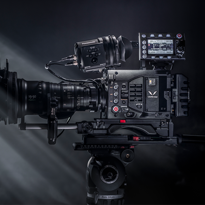 panasonic cinema cameras including the varicam EVA1 and S1H