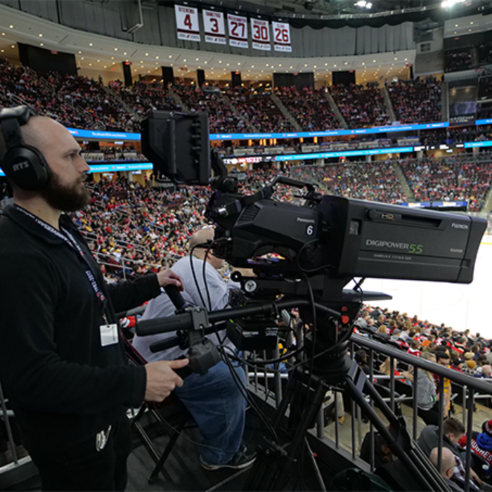 Panasonic cameras for live sports video production