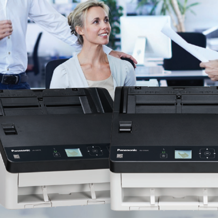 Panasonic Office Document Scanner Lineup for Document Management