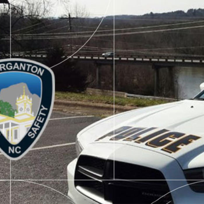 Morganton Police Car