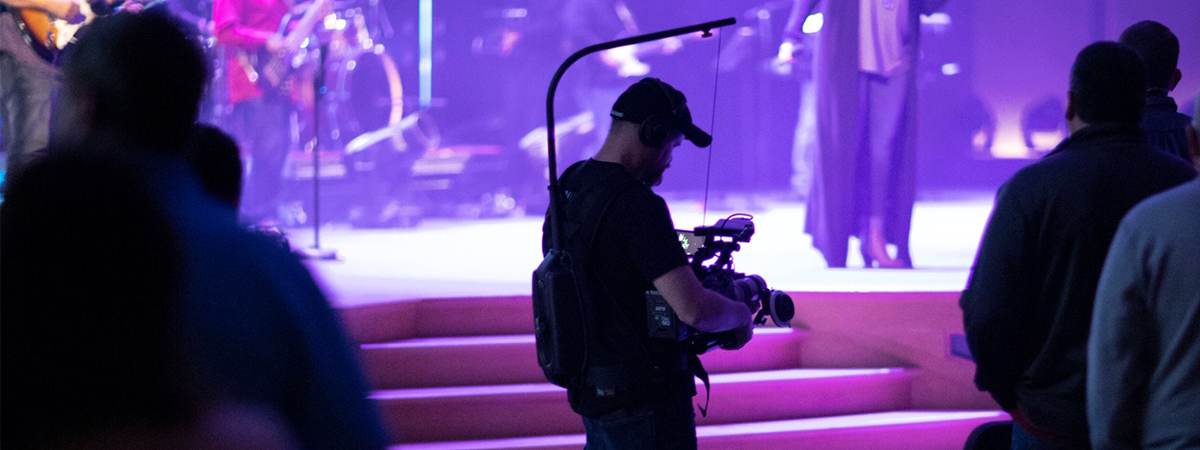 VariCam LT Steadicam Live Video Production at Chase Oaks Church with CINELIVE
